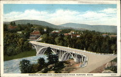 Memorial Bridge over Androscoggin River