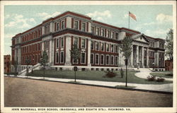 John Marshall High School (Marshall and Eighth Sts.)
