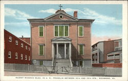 Oldest Masonic Bldg. in US, Franklin Between 18th and 19th Sts