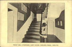 Front Hall Staircase, Cary House