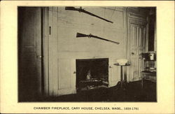 Chamber Fireplace in the Cary House