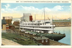 SS Christopher Columbus in Winter Quarters