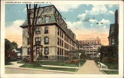 Street View of Crouse-Irving Hospital