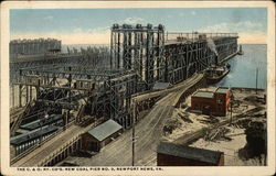 The C&O Ry Company's New coal Pier No. 9