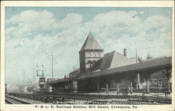 P & LE Railroad Station, Mill Street