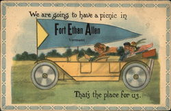 We are going to have a picnic in Fort Ethan Allen