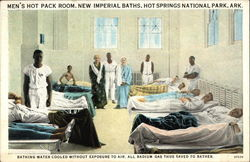 Men's Hot Pack Room, new Imperial Baths
