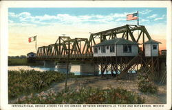 International Bridge crossing Rio Grande