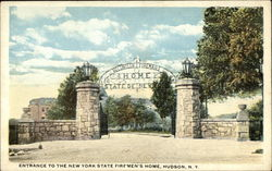 Entrance to the New York State Firemen's Home