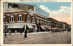 Street View of Flatbush and Church Avenues