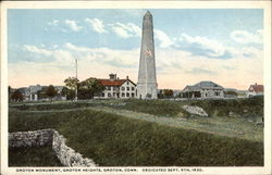 Groton Monument, Groton Heights - Dedicated September 6, 1830