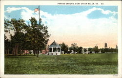 Parade Ground, Fort Ethan Allen