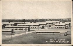 Camp Grant - Section of Barracks