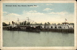 Municipal Docks, Ship Channel