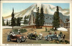 Paradise Inn, Rainier National Park
