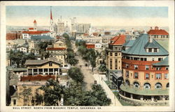 Bird's Eye View of Bull Street, North from Masonic Temple