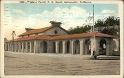 Western Pacific Railroad Depot