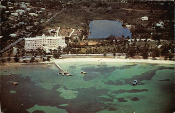 The Fort Montagu Beach Hotel Nassau Bahamas Caribbean Islands