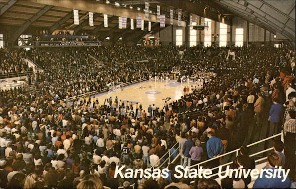 Ahearn Field House Interior, Kansas State University Manhattan