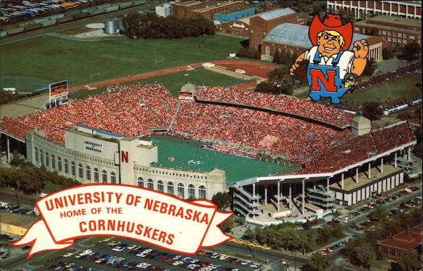 University of Nebraska - Memorial Stadium Lincoln
