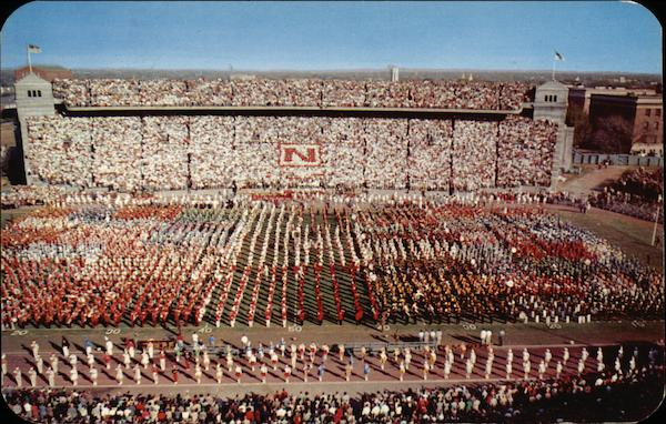 Band Day, University of Nebraska Stadium Lincoln