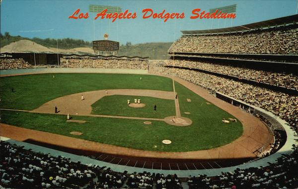Los Angeles Dodgers Stadium California
