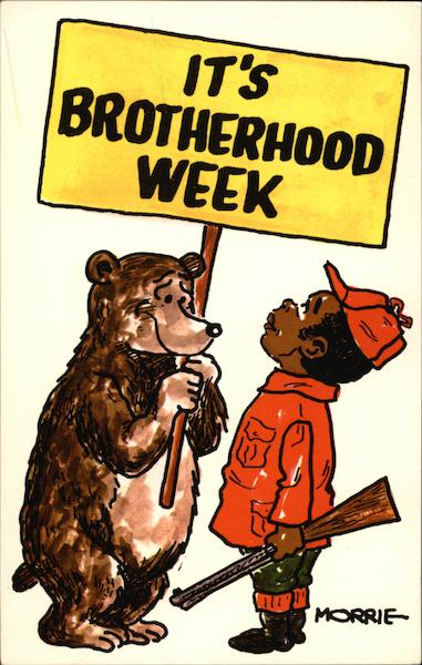 It's Brotherhood Week Black Americana