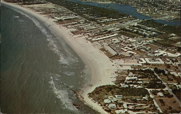 Snow White Sands Of Crescent Beach Sarasota Florida