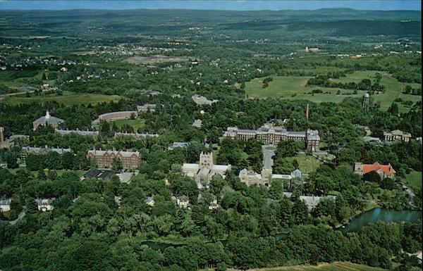 Aerial View Vassar College Poughkeepsie New York Henry Reichert