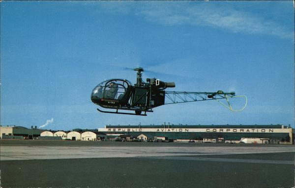 Alouette II Farmingdale New York Aircraft