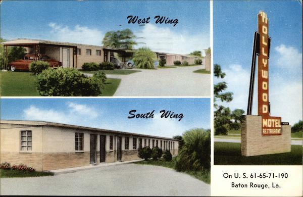 Hollywood Motel And Restaurant Baton Rouge LA
