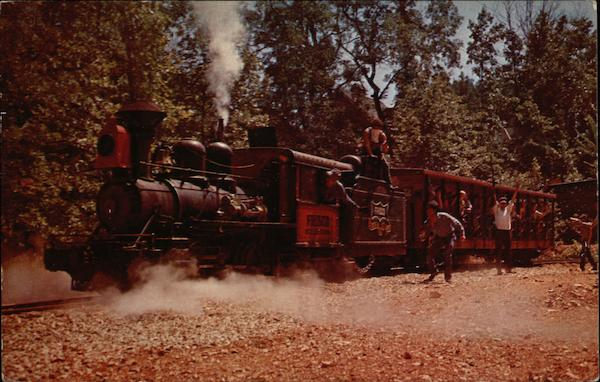 Train Robbery on the Frisco-Silver Dollar Line at Silver Dollar City