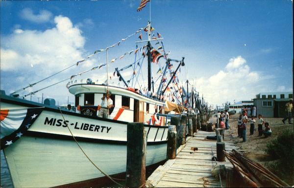 Shrimp Boats for the Blessing of the Fleet Boats, Ships