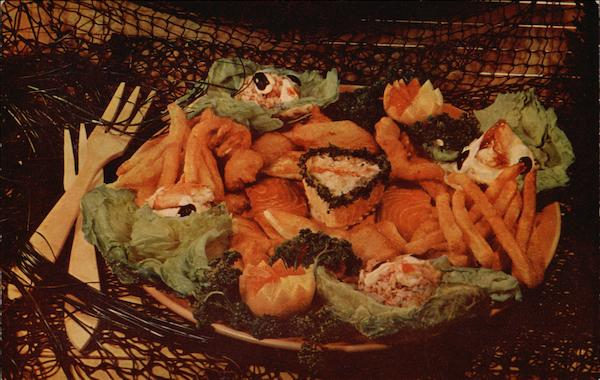 Ideal Fish Restaurant - Sea Food Platter Santa Cruz California