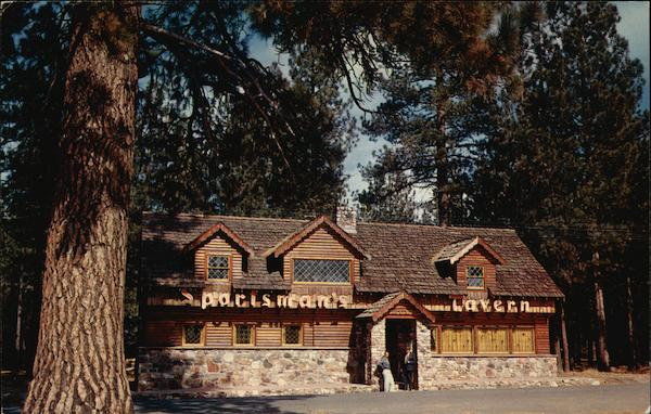 Sportsmans Tavern - Big Bear Lake Moonridge California