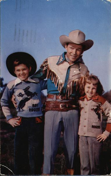 Pauker's Offical Roy Rogers Sweaters Advertising