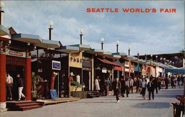 Boulevards of the World 1962 Seattle World's Fair