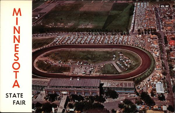 Minnesota State Fair - Grandstand and Race Track St. Paul