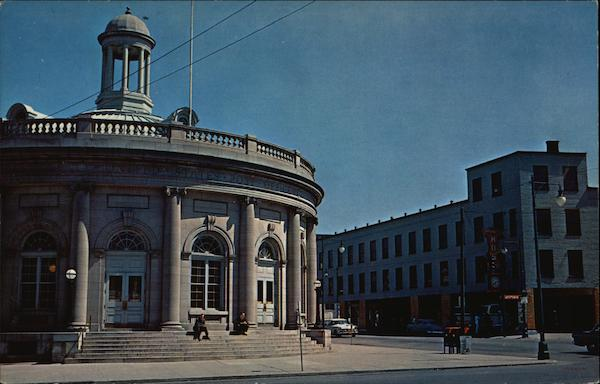 U.S. Post Office and Central Bus Depot Kingston New York