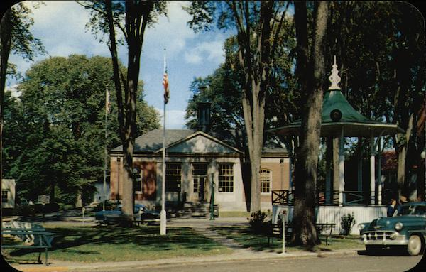 Boonville Village Square and Post Office New York