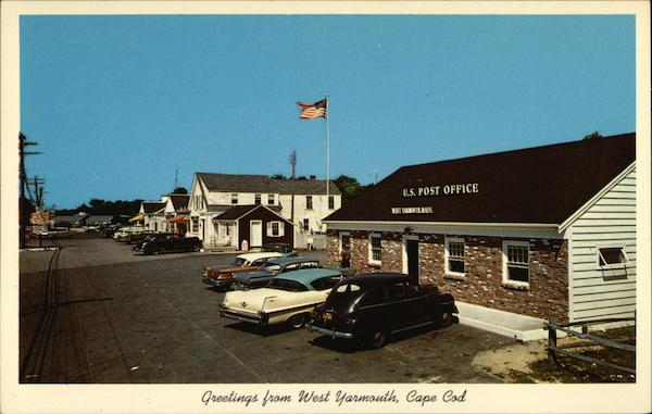 Post Office and Great Island Shopping Center Yarmouth Massachusetts