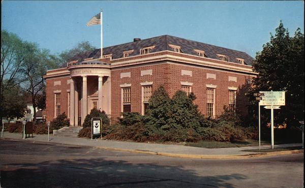 US Post Office - Erected in 1931 on the Circle Georgetown Delaware
