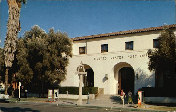 United States Post Office at 9th and Orange Riverside California
