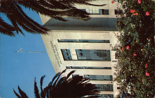United States Post Office and Custom House San Pedro California