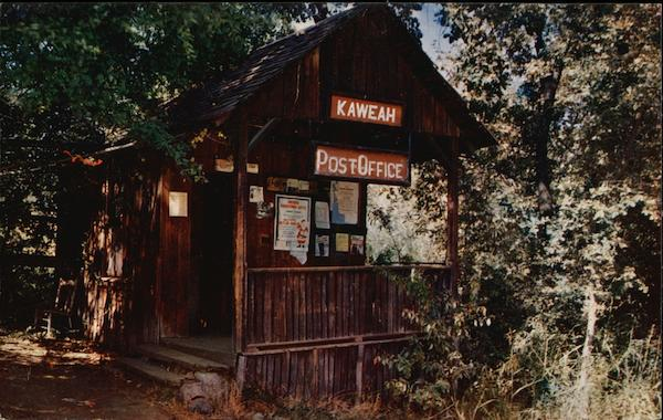 Kaweah Post Office California