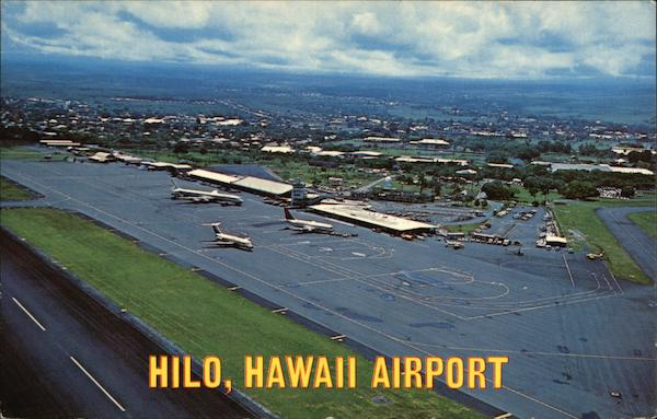 Aerial View of Hilo Airport Hawaii Airports