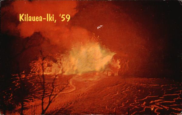 Kilauea-lki, '59 Hawaii