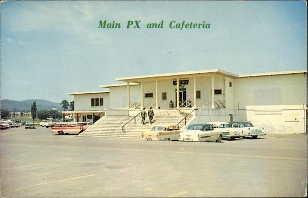 Main Post Exchange & Cafeteria at Fort McClellan Anniston, AL