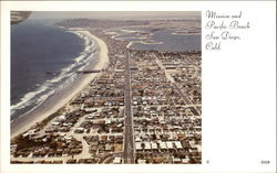 Aerial View of Mission and Pacific Beach