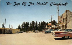 "Main Street; ""On Top of the World"" Postcard"